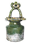 Green Glazed Han Dynasty Well Jing -206BC - 220AD