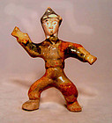 Chinese Tang Sansai Glazed Young Man - 618 - 907AD