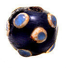 Chinese Rare Glass Eye Bead - Warring States - 475BC - 221BC
