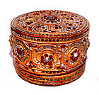 Burmese Yun Lacquered Betel Box - 19th Century