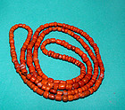 Rare Asian  Neolithic Ceramic Bead Necklace 500 - 1,000 BC