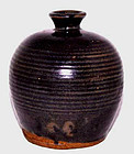 Chinese Glazed Song Wine Jug   960 -1126 AD