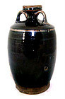 Chinese Black Glazed  Song Wine Ewer - 960 - 1126 AD