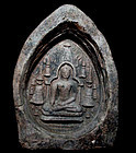 Burmese Pagan (Bagan) Votive Tablet of Buddha - 9th Century