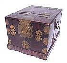 Chinese Blackwood Vanity Chest Case - 19th C.
