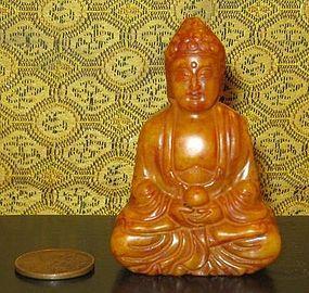 Quality Hardstone Statue of a Buddha