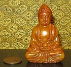 Quality Hardstone Statue of a Buddha