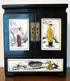 Vintage Quality Chinese Jewelry Storage Chest