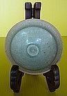 Rare Northern Song Celadon Tea  Bowl