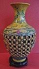 Large Quality Chinese Vase-Top Kiln- Signed