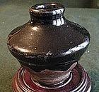 Chinese Honan Tenmoku Glaze Jarlet C 1000 A.D.