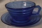 Moderntone Cobalt Cup and Saucer