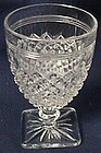 Miss America Crystal Wine Goblet