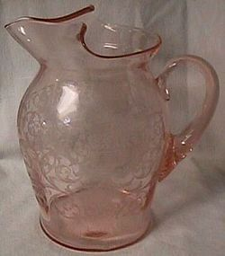 Cambridge Etch 710 Pink Jug