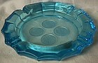 Fostoria Coin Blue Ashtray