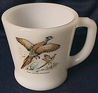 Fire King Game Birds Ring-Necked Pheasant Mug