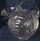 Cambridge Caprice Crystal Ball Jug