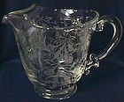 Fostoria Heather Crystal Pitcher