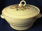 Victory Basket Casserole and Lid Salem China