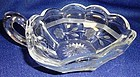 Crystal Etched Nappy Handled