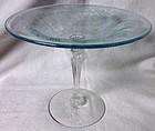 Kashmir Azure Comport Fostoria Glass Company