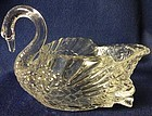 Cambridge Glass Company Swan Crystal 5""