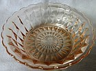 "Windsor Pink 4.75"" Bowl Jeannette Glass Company"