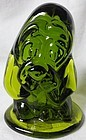 Viking Green Basset Hound 4.25""