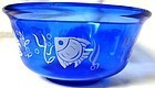 Angel Fish Ice Bowl Ritz Blue