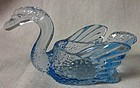 "Swan Blue 2.5"" Cambridge Glass Company"