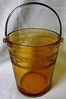 Seville Amber Ice Bucket Fostoria Glass Company