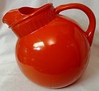 Rainbow Orange Pitcher 80 oz Anchor Hocking Glass Company