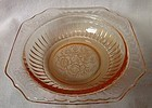 "Mayfair Pink Cereal Bowl 5.5"" Hocking Glass Company"