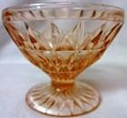 Windsor Pink Sherbet Jeannette Glass Company