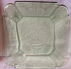 Lorain Green Dinner Plate Indiana Glass Company