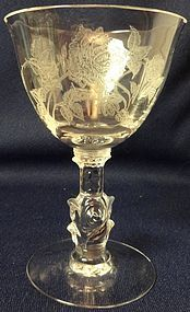 "Rose Crystal Cocktail 4 7/8"" Heisey Glass Company"