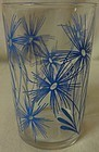 "Cornflower #2 Light Blue 3.5"" Swanky Swig Hazel Atlas Glass Company"
