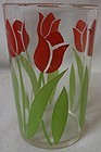 Tulip Red Juice Tumbler 3.5""
