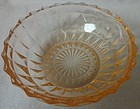 "Windsor Pink 5"" Z Z Bowl Jeannette Glass Company"