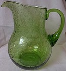 "Pitcher Green 9"" with Bubbles"