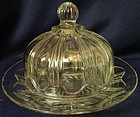 Colonial Crystal Butter Hocking Glass Company