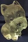 "Dog Crystal 5.25"" Viking Glass Company"
