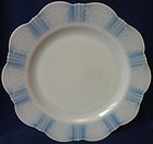 "American Sweetheart Monax Dinner Plate 10.25"" MacBeth Evans Glass"