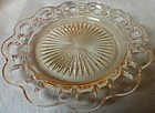 "Old Colony Pink Salad Plate 7.25"" Hocking Glass Company"