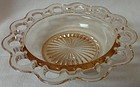 "Old Colony Pink Cereal Bowl 6 3/8"" Hocking Glass Company"