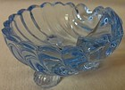 "Caprice Moonlight Blue Ashtray with Cardholder 2.75"" Cambridge"