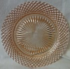 "Miss America Pink Salad Plate 8.5"" Hocking Glass Company"