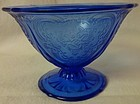 Royal Lace Cobalt Sherbet Hazel Atlas Glass Company