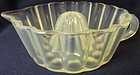 Reamer or Gelatin Mold Pearl Fry Glass Company