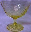 Princess Yellow Sherbet Hocking Glass Company